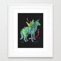 kozyndan Framed Art Prints featuring Desert Dreamer Uno by kozyndan