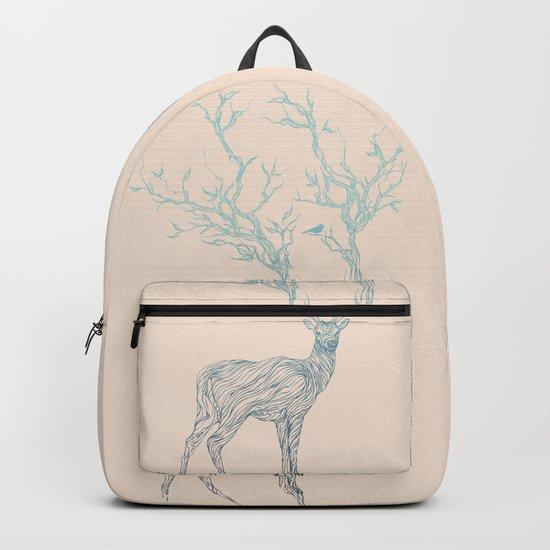 Blue Deer Backpack