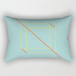 Two Squares Rectangular Pillow