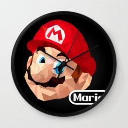Mario Poster Wall Clock