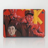 korea iPad Cases featuring Military in North Korea by kaliwallace