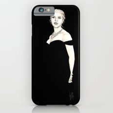 Black and Scarlett  iPhone 6s Slim Case