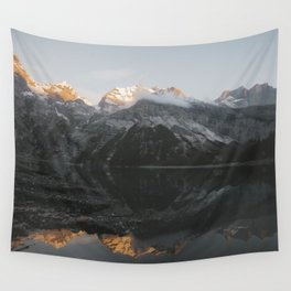 Mirror Mountains - Landscape Photography Wall Tapestry