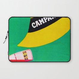 Extremely rare Campari Aperitif 'l aperitivo bullet' Advertisement Print Laptop Sleeve
