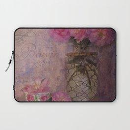 Camellias and Teacup Laptop Sleeve