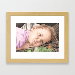 Captivated Framed Art Print