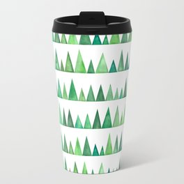 Watercolor forest park Travel Mug