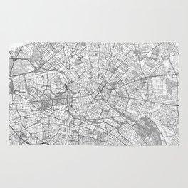 Berlin Map Line Rug