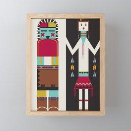 Kachina Dolls Framed Mini Art Print