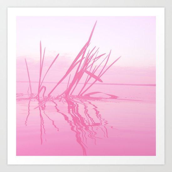 Through Rose tinted glasses Art Print