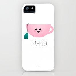 Tea-Hee iPhone Case