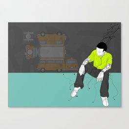 SINGLE PERSON Canvas Print