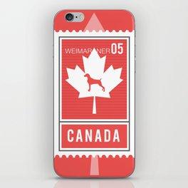 CANADA WEIM STAMP iPhone Skin