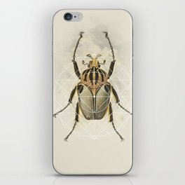 Beetle Geo iPhone Skin