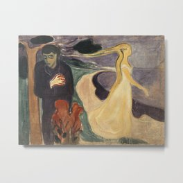 Edvard Munch - Separation Metal Print