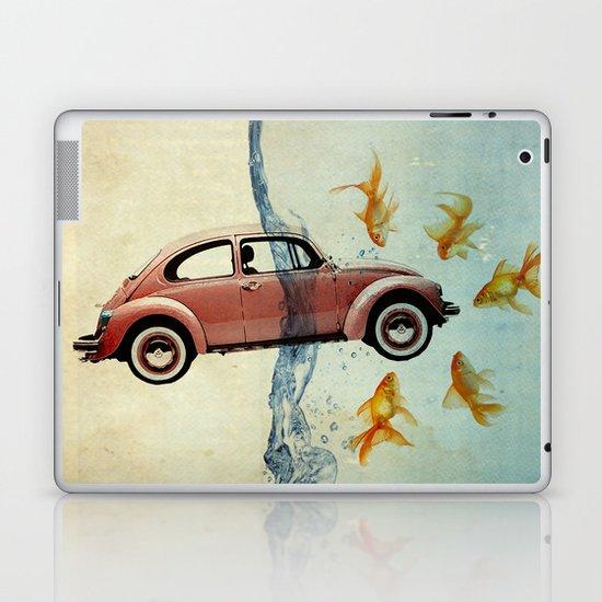 Bug and goldfish Laptop & iPad Skin