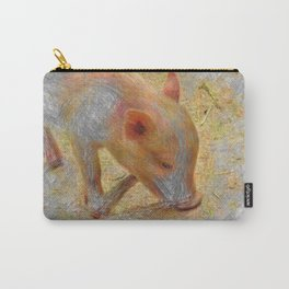 Artistic Animal Piglet Carry-All Pouch