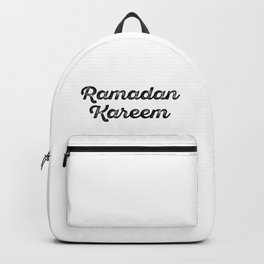 Ramadan Kareem Halal Backpack