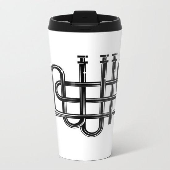 Music Metal Travel Mug