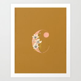 C for Cosmos Art Print