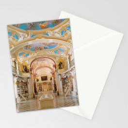 The Magnificent Admont Abbey Library of Admont, Austria Photograph Stationery Cards