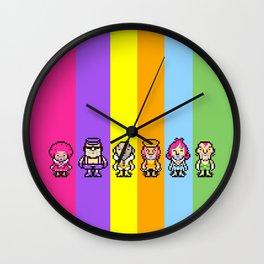 The Magypsies (Aeolia, Doria, Lydia, Phrygia, Mixolydia and Ionia) - Mother 3 Wall Clock