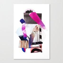 Purple Levels Canvas Print