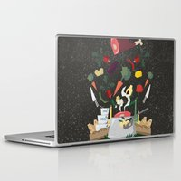 meat Laptop & iPad Skins featuring MEAT DİNNER by Ceren Aksu Dikenci
