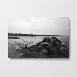 Short walk Metal Print