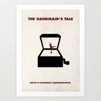 The Handmaid's Tale - The Girl In The Box Art Print