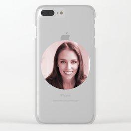 Jacinda Ardern Clear iPhone Case