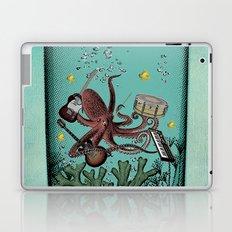 Musical Octopus Print Laptop & iPad Skin