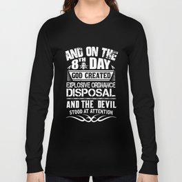and on the 8th day god created bike t-shirts Long Sleeve T-shirt