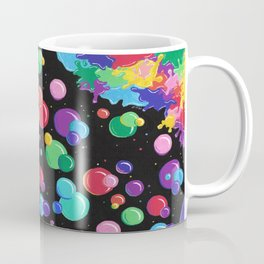 Bubbles colors the World !  Coffee Mug