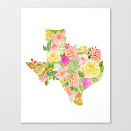Texas State Canvas Prints Society6