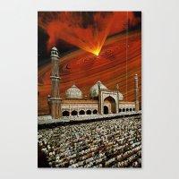 apocalypse now Canvas Prints featuring Apocalypse Now by Caroline A