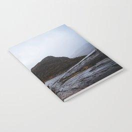 Misty Irish lake Notebook