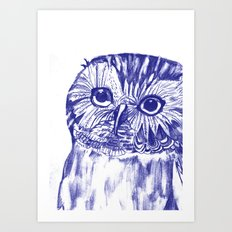 Another Owl Art Print