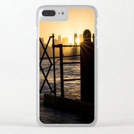 Staten Island Ferry: Sunrise Clear iPhone Case