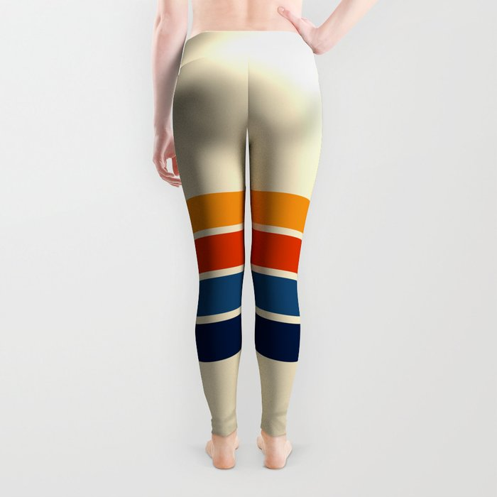Classic Retro Stripes Leggings