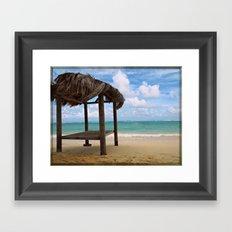 Caribbean Breeze Framed Art Print