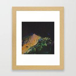 øvęł Framed Art Print