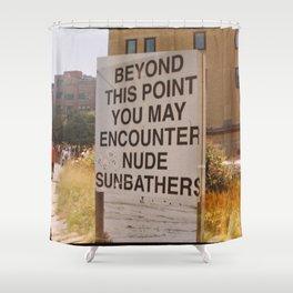New York Art, High Line Shower Curtain