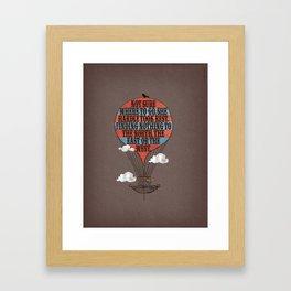 The Tale of Neu (verse 16) Framed Art Print