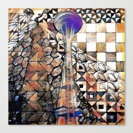 seattle scapes Canvas Print