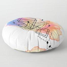 Buddha Power Floor Pillow