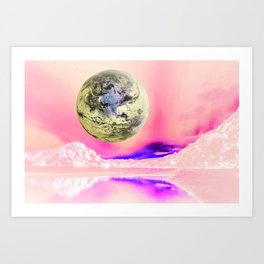 Do You Think There Is Intelligent Life On Earth? Art Print