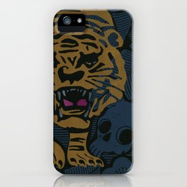 Golden Tiger iPhone Case