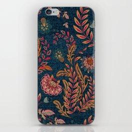 Bandana - Floral iPhone Skin