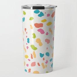 Colorful Animal Print Travel Mug